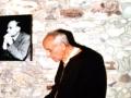 1990 sulla tomba di Lazzati - Eremo San Salvatore, Erba (CO)