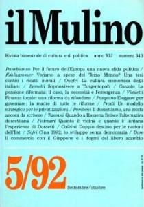 1170 - L'esperienza politica dossettiana, il Mulino 343_1992