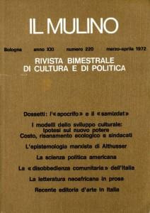 1972 GD Lettera a un confratello - Una liturgia della Parola in Il Mulino