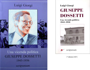 2003 Giorgi - Dossetti una vicenda politica