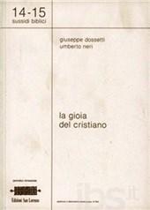 1987 Dossetti - La gioia del cristiano