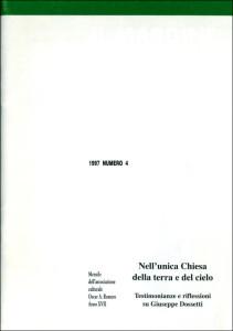 1997 il Margine 4-1997 copertina