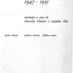 1947-51 Dossetti et aa - CRONACHE SOCIALI antologia Glisenti Elia