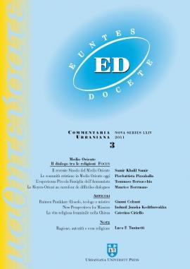 2011 Bernacchia - Euntes Docete